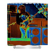 Live In Oakland 1976 Shower Curtain