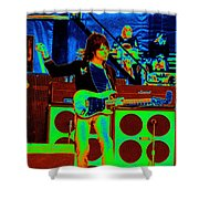 Live In Concert 1976 Shower Curtain