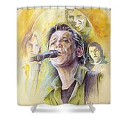 Jeff Christie Shower Curtain