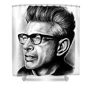Jeff Goldblum Shower Curtain