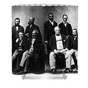Jefferson Davis Trial Shower Curtain