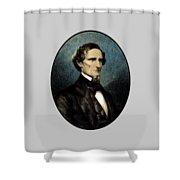 Jefferson Davis Shower Curtain by War Is Hell Store