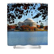 Jefferson In Splendor Shower Curtain