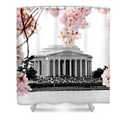 Jefferson In Spring Shower Curtain