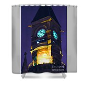 Jefferson Market Clock Tower Shower Curtain