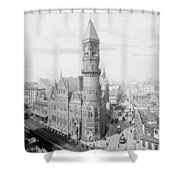 Jefferson Market Nyc Vintage Photo Shower Curtain