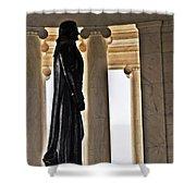 Jefferson Memorial 1  Shower Curtain