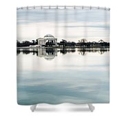Jefferson Memorial And Tidal Basin Shower Curtain
