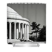 Jefferson Memorial Building In Washington Dc Shower Curtain