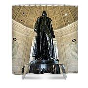 Jefferson Memorial Lll Shower Curtain