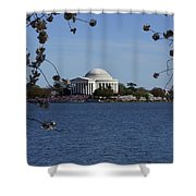 Jefferson Monument Shower Curtain