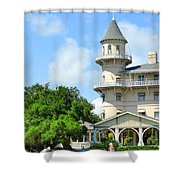 Jekyl Island Living Shower Curtain