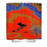 Jelks Pine 16 Shower Curtain