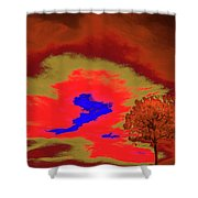 Jelks Pine 5 Shower Curtain