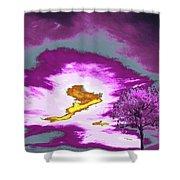 Jelks Pine 8 Shower Curtain