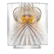 Jelly Fish Art Shower Curtain