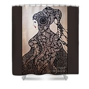 Jelly Queen Shower Curtain