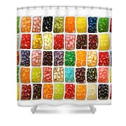 Jellybeans Shower Curtain