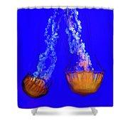 Jellyfish Art Shower Curtain