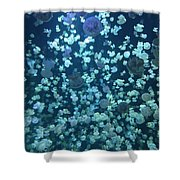 Jellyfish Collage Shower Curtain