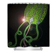 Jellyfish Dazzle Shower Curtain