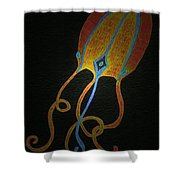Jellyfish Light Shower Curtain