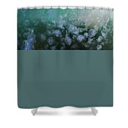 The Lighthous - Jellyfish Soup Shower Curtain