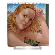 Jenn Cornelius Shower Curtain by Jerrold Carton