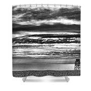 Jennings Beach, Fairfield Shower Curtain