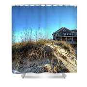 Jennettes Pier Nags Head North Carolina Shower Curtain