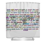 Jennifer Shower Curtain