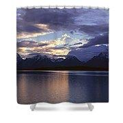 Jenny Lake, Grand Teton National Park Shower Curtain