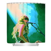 Jenny Lewis 1 Shower Curtain