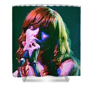 Jenny Lewis 2 Shower Curtain