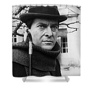 Jeremy Brett (1935-1995) Shower Curtain