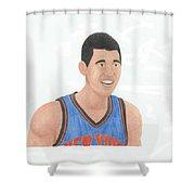 Jeremy Lin Shower Curtain