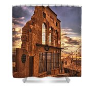 Jerome Market Ruins Shower Curtain