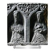 Jerpoint Abbey Irish Tomb Weepers Saints County Kilkenny Ireland Shower Curtain