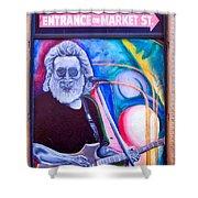 Jerry Garcia - San Francisco Shower Curtain