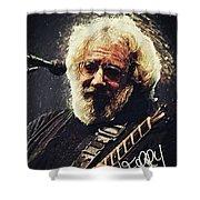Jerry Garcia Shower Curtain