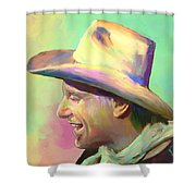 Jerry Jeff The Gypsy Songman Shower Curtain