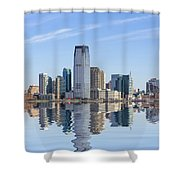 Jersey City Shower Curtain