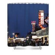 Jersey Shore Board Walk Shower Curtain