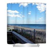 Jersey Shore Shower Curtain