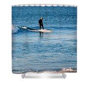 Jersey Shore Surfer Shower Curtain