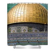 Jerusalem - Dome Of The Rock Shower Curtain