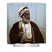 Jerusalem - Sheik Of Palestinian Village Shower Curtain