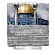 Jerusalem - The Dome Shower Curtain