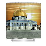 Jerusalem - The Light Shower Curtain