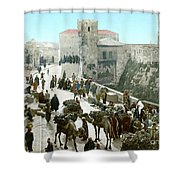 Jerusalem: Bazaar, C1900 Shower Curtain